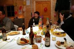 Silvesterfeier in der neuen Vereinshütte